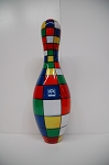 Bowling Pin - Checker Pattern