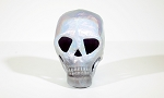 Human Skull - White Pearlescent