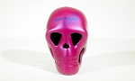 Human Skull - Pink Painthouse